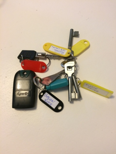 Keys to our new home!