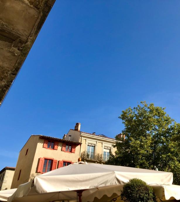 Carcassonne blue skies